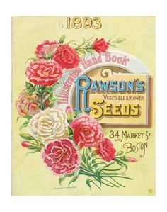 Premium Giclee Print: Rawson Seed 1893 Boston MA : 56x44in