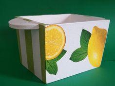 Porta margarina com alças laterais   Neiva Artes em MDF   Elo7
