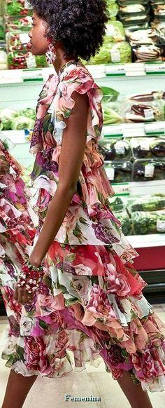 """Dolce & Gabbana FW 2018-19 Women's Collection """"A Blossoming Garden """" #DGWomen"""