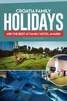 Croatia Travel Blog: When it comes to finding the best place to stay with a kid in Croatia, there are tons of options. But none better than the Family Hotel Amarin, Rovinj. #Croatia #FamilyTravel #CroatiaTravel #WheretostayinCroatia