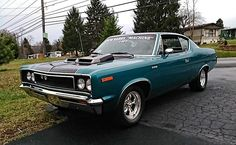 1970 AMC Rebel Machine, 1 of 1 Seafoam Aqua. Click to Find out more - http://fastmusclecar.com/best-muscle-cars/1970-amc-rebel-machine-1-of-1-seafoam-aqua/ COMMENT.