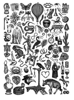 Limited edition x Fine Art Giclée print on Hahnemuhle German Etching paper. Hand stamped, signed and numbered edition of. Tattoo Design Drawings, Tattoo Sleeve Designs, Tattoo Sketches, Tattoo Designs Men, Sleeve Tattoos, Kritzelei Tattoo, Tatto Old, Doodle Tattoo, Bild Tattoos