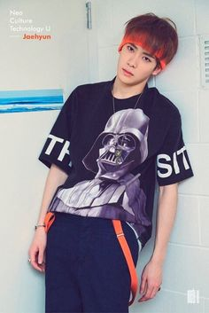 #JAEHYUN #NCT #NCTU | I would also like to point out the Star Wars tshirt and…