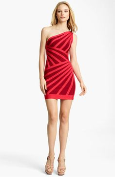 Herve Leger. http://fashionlovestruck.com/smokin-red-lipstick/