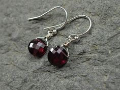 4.26 Carat Garnet Earrings