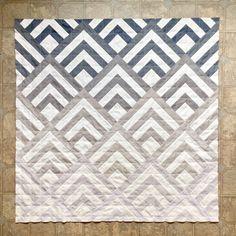 Quilt Square Patterns, Modern Quilt Patterns, Square Quilt, Chevron Quilt Pattern, Quilting Projects, Quilting Designs, Sewing Projects, Quilting Tutorials, Nancy Zieman