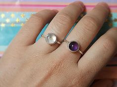 Moonstone sterling silver ring moonstone cabochon δαχτυλίδι