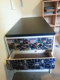 Kids 3-drawer desk/craft table - IKEA Hackers