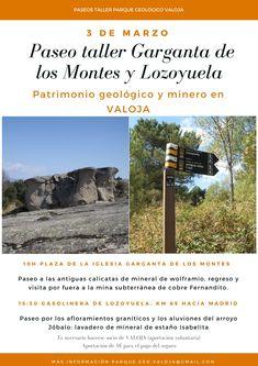 Paseo-taller de patrimonio geológico y minero a cargo de Luis Jordá (IGME)