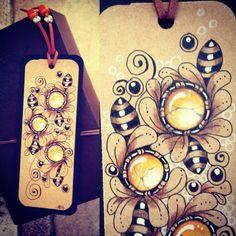 #zia#tangle#doodle#zengem#gem#bookmark