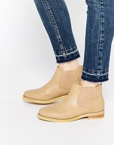 750207e794b Daisy Street Weathered Tan Chelsea Boots Asos Online Shopping