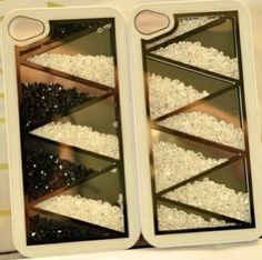 DIY Moving Beads Phone Case.