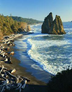 Rialto Beach, Washington. My fave beach of all time