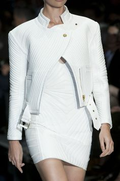 Tom Ford | Spring 2014 RTW |= White Leather Hotness (DATE NIGHT)