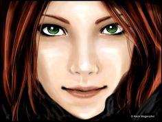 Lily Evans by Glaciens.deviantart.com on @DeviantArt