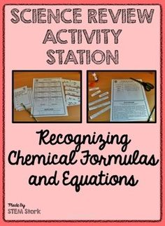 Science review activity patterns on the periodic table of elements science review activity recognizing chemical formulas and equations 85df urtaz Choice Image