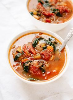 Quinoa Vegetable Soup with Kale
