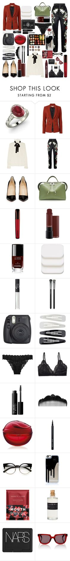 """Untitled #49"" by bianca0813 ❤ liked on Polyvore featuring Diamondere, Veronica Beard, Dolce&Gabbana, Christian Louboutin, Jil Sander, Chanel, COVERGIRL, NARS Cosmetics, MAC Cosmetics and Forever 21"