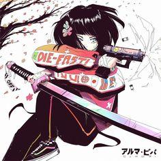 Kunst Inspo, Art Inspo, Cartoon Kunst, Cartoon Art, Art And Illustration, Anime Art Girl, Manga Art, Anime Girls, Aesthetic Art