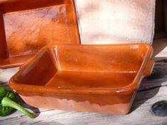 18cm x 14cm terracotta tapas tray