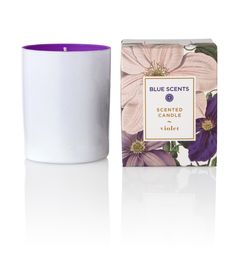 Blue Scents Candle Violet