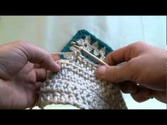 This page has BUNCHES of videos about loom knitting, crochet and stuff