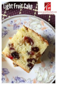 Discover How to make Chinese Food Treat Asian Fruit Cake Recipe, Light Fruit Cake Recipe, Fruit Recipes, Baking Recipes, Snack Recipes, Asian Cake, Fruit Sponge Cake, Sponge Cake Recipes, Food Cakes