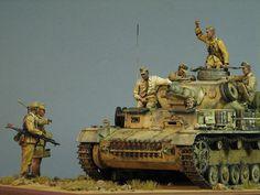 Pz.IV Ausf.E in Africa | Dioramas and Vignettes | Gallery on Diorama.ru