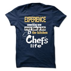Tshirt for chef.Full Size (From S to 5XL) Only 19$ with 7 colour options. Order now --> https://www.sunfrog.com/ChefsLifeTshirt-NavyBlue-Guys.html?57052 These are not sold in stores and are only available for a limited time, so don't miss out and order yours before they are gone !