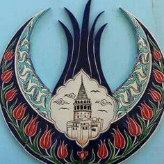 Galata Turkish Tiles, Turkish Art, Islamic Tiles, Islamic Art, Ceramic Plates, Decorative Plates, Tile Art, Antique Items, Art And Architecture