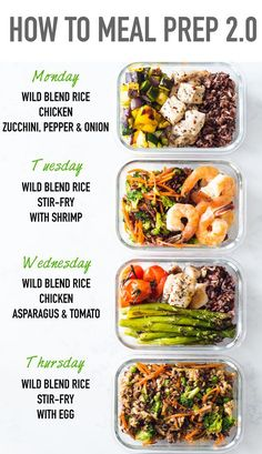 Meal prepping is the secret to a healthy lifestyle and here is a meal prep idea . Meal prepping is the secret to a healthy lifestyle and here is a meal prep idea for 4 different meals all made in one go. How to Meal Prep so to speak. Clean Eating Dinner, Clean Eating Snacks, Eating Habits, Clean Eating Meal Plan, Prepped Lunches, Cold Lunches, Lunch Snacks, Meal Prep Bowls, Food Meal Prep
