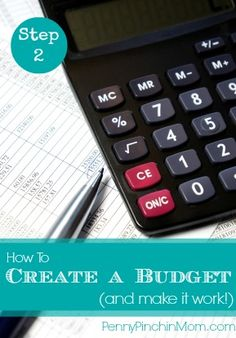 How To Create a Budget — And Make It Work!