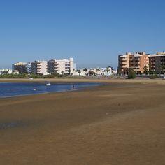 Playa de la Punta del Caiman en Isla Cristina (Huelva)