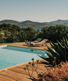Designer Angela Missoni's home in Sardinia is part of a sprawling family compound where the celebrated fashion clan gathers to relax, cook, garden and display its famously colorful taste. The house is. Fresco, Water Element, Weekends Away, Outdoor Living, Outdoor Decor, Wall Street Journal, Sardinia, Island Life, House Tours