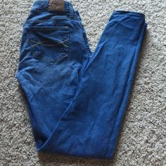 Abercrombie jeans EUC! used to be my favorite jeans! Absolutley no flaws! Abercrombie & Fitch Jeans Skinny