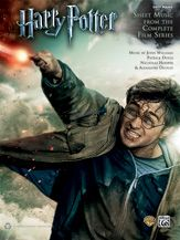 For the first time ever, 37 sheet music selections by John Williams, Patrick Doyle, Nicholas Hooper, and Alexandre Desplat are collected along with eight pages of color stills from The Sorcerer's Stone to The Deathly Hallows, Part 2.  #harrypotter #music #sheetmusic