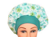 Scrub Cap Surgical Scrub Hat Chemo Chef by ScrumptiousScrubHatz