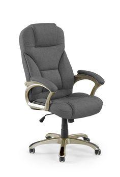 DESMOND 2 fotel gabinetowy ciemny popielaty wykonany z tkaniny - producent Halmar Swivel Office Chair, New Room, Furniture, Home Decor, Products, Gadgets, Trendy Tree, Decoration Home, Room Decor