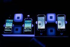 Notícias»Tecnologia pessoal  Smartphone com tela grande domina MWC 2013