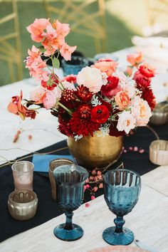 The team at Amy Abbott Events are renowned for being creative Los Cabos Wedding Planners. Flower Centerpieces, Wedding Centerpieces, Wedding Decorations, Decor Wedding, Flower Arrangements, Floral Wedding, Wedding Colors, Wedding Flowers, Farm Wedding