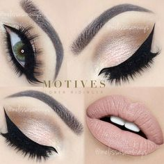Instagram photo by @melissasamways (Melissa Samways) - via Iconosquare ❤ liked on Polyvore featuring beauty products, makeup, eye makeup, eyes, beauty, lips, gel eye liner, eyebrow cosmetics, eye brow makeup and gel eyeliner