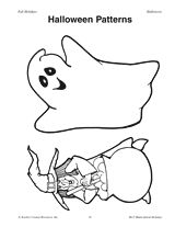 Halloween Patterns Printable http://www.teachervision.fen.com/halloween/printable/37306.html #Halloween #Ghosts #Witches