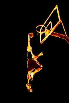 Fiery Basketball Slam Dunk Cool Basketball Wallpapers, Cool Nike Wallpapers, I Love Basketball, Basketball Players, Kuroko No Basket Characters, Sports Wall Decals, Basket Sport, Cake Decorating Designs, Porsche Sports Car