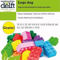 Vandaag is er markt in Delft en omdat er vakantie is hebben de ondernemers van de markt wat leuks voor de kids georganiseerd. Een Lego toren bouwen! Is jouw kind gek op Lego?  #pepaondermode #marktdelft #markt #delft #delftlikealocal #delftmama #delftcityguide #lego #bouwen #torenbouwen #spelen #jongen #meisje #vakantie #winkelen #dagjemarkt #ondergoed #pyjama #shopping