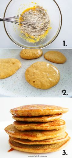 Oatmeal Pancakes {Healthy, But Addictive} - Her Highness, Hungry Me Healthy Breakfast Pancake Healthy, Breakfast For Kids, Healthy Breakfast Recipes, Healthy Eating, Protein Breakfast, Healthy Food, Oatmeal Pancakes Easy, Oatmeal Cupcakes, Breakfast Pancakes