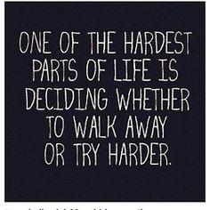 Hardest decision to make!
