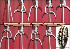 modified caged solomon bracelet | Swiss Paracord Anleitungen | Swiss Paracord