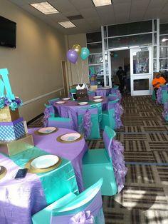 23 Super Ideas Baby Shower Girl Theme Sea Little Mermaids Mermaid Theme Birthday, Little Mermaid Birthday, Baby Birthday, Birthday Ideas, Mermaid Baby Shower Decorations, Mermaid Baby Showers, Baby Shower Mermaid Theme, Baby Shower Balloons, Baby Shower Parties