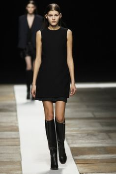 New York Fashion Week: Theyskens' Theory Fall 2013 / Photo by Anthea Simms