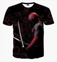 [Magic] Newest t-shirt Men Women t shirt Fashion T Shirts American Comic Badass Deadpool Tees Summer Cool tees tops Cartoon T Shirts, 3d T Shirts, Branded T Shirts, Printed Shirts, T Shirts For Women, Yung Lean, Deadpool T Shirt, Deadpool Superhero, Deadpool Tacos